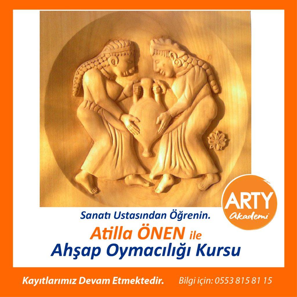 Antalya Ahşap Oymacılığı Kursu